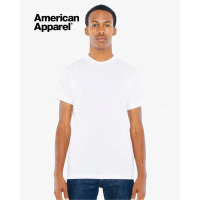 American Apparel Unisex Poly-Cotton Short Sleeve T